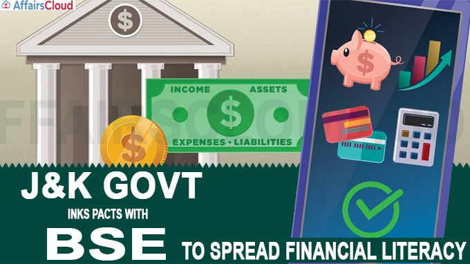 J&K govt inks pacts with BSE to spread financial literacy