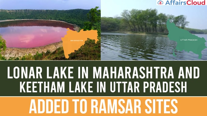 Lonar-lake-in-Maharashtra-and-Keetham-lake-in-UP-added-to-Ramsar-sites