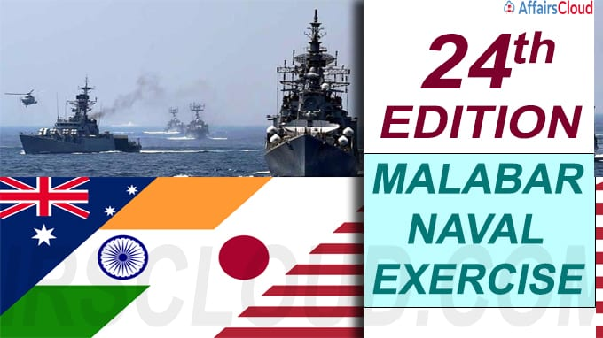 Malabar naval exercise new
