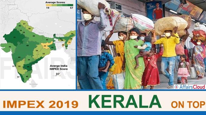 Migrant Policy Index Kerala on top, Delhi near bottom new