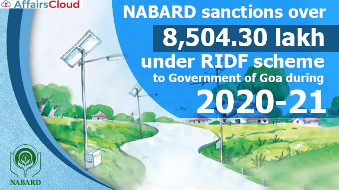 NABARD-sanctions-over-₹-8504-30-lakh-under-RIDF-scheme-to-Government-of-Goa