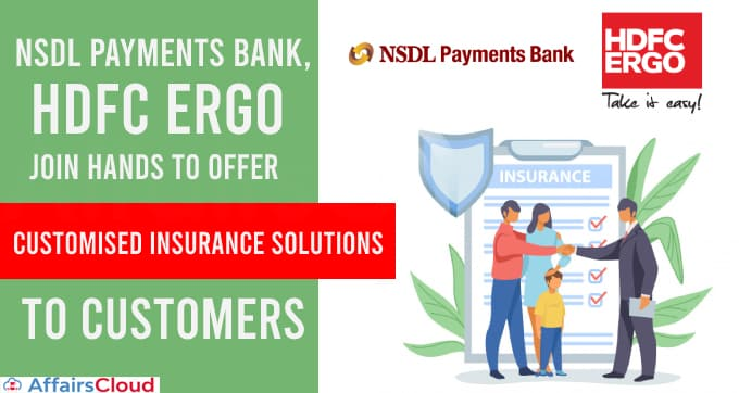 NSDL-Payments-Bank,-HDFC-ERGO-join-hands-to-offer-customised-insurance-solutions-to-customers