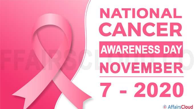 National Cancer Awareness Day - November 7 2020