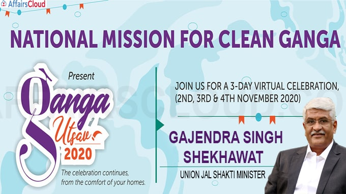 National Mission for Clean Ganga (NMCG) organised three-day virtual 'Ganga Utsav 2020'