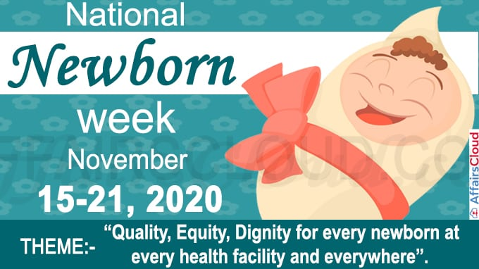 National Newborn Week 2020