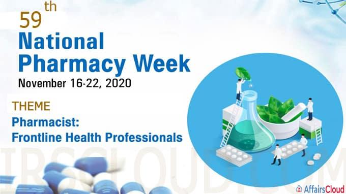 National Pharmacy Week