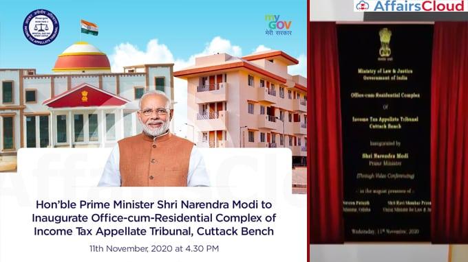 PM-Modi-Inaugurates-Office-cum-Residential-Complex-of-Cuttack-Bench