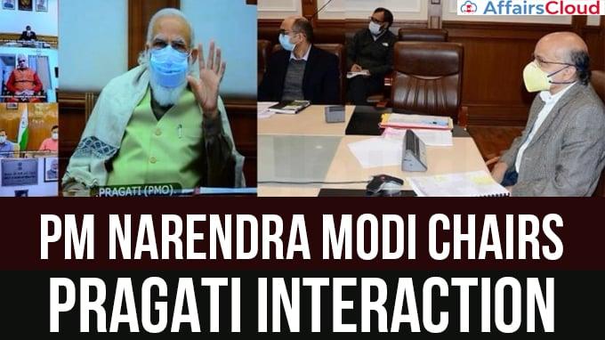 PM-Narendra-Modi-chairs-33rd-PRAGATI-interaction