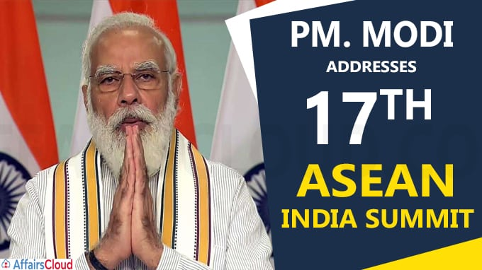 PM addresses 17th ASEAN India Summit