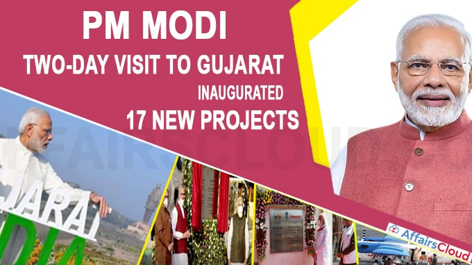 Prime Minister Narendra Modi two-day visit to Gujarat, inaugurated 17 new projects
