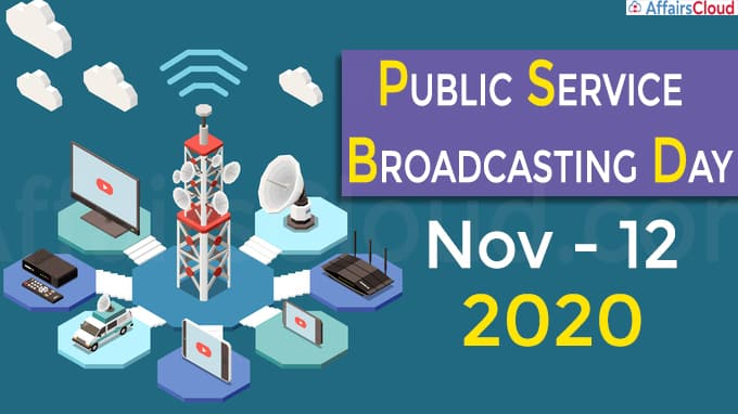 Public Service Broadcasting Day 2020