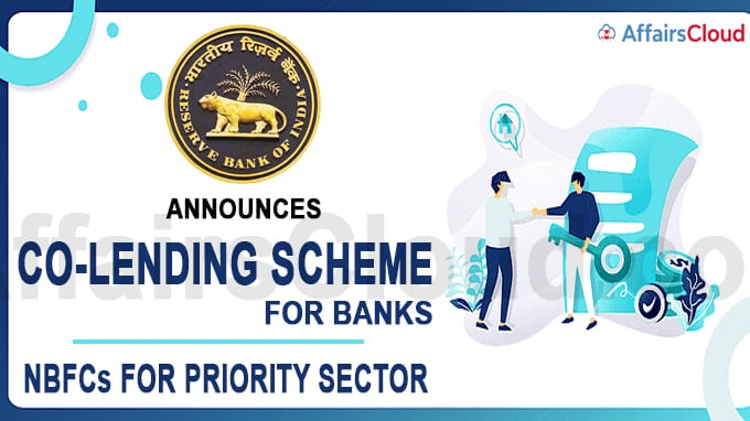 RBI announces co-lending scheme for banks