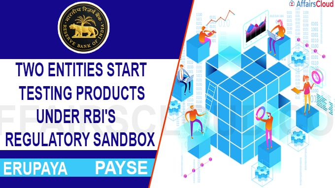 RBI commences first Test Phase of Regulatory Sandbox retail payments