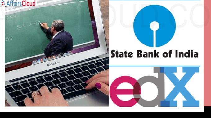 SBI ties up with global education platform edX