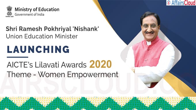 Union Minister of Education launches Lilavati Award