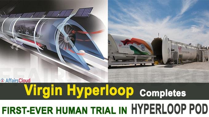 Virgin Hyperloop completes first-ever human trial in hyperloop pod in US