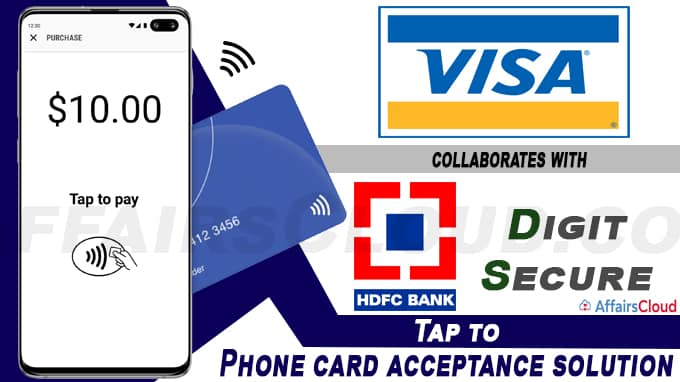 Visa collaborates with DigitSecure and HDFC Bank for Tap to Phone card acceptance solution