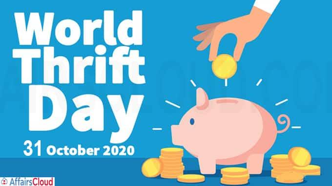 World Thrift Day