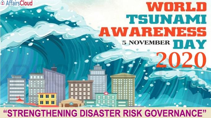 World Tsunami Awareness Day 2020