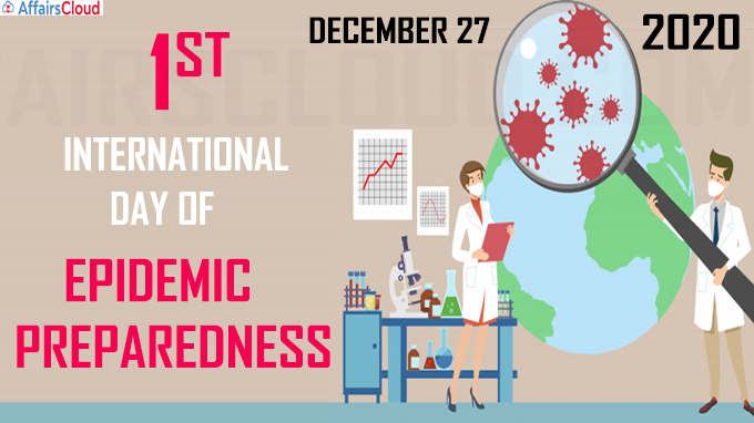 1st International Day of Epidemic Preparedness