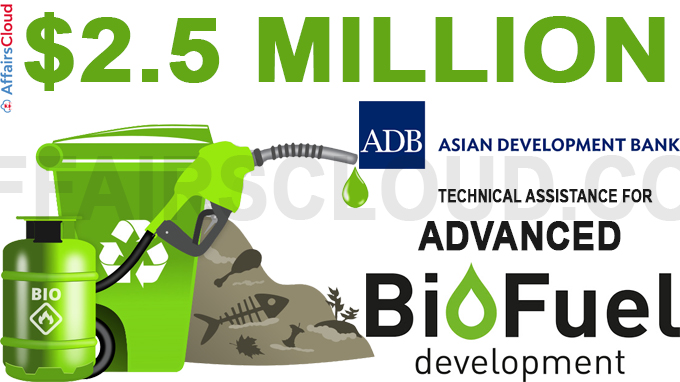 $2-5 million ADB technical assistance for advanced biofuel development
