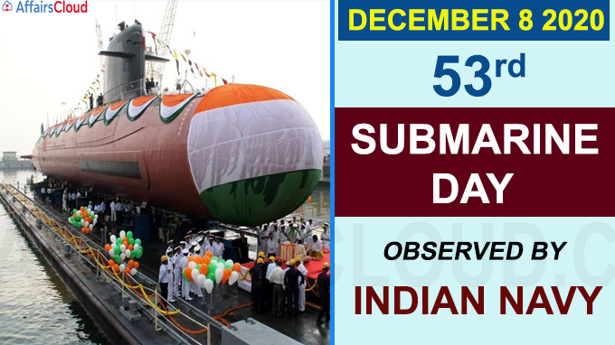 53rd Submarine Day observed by Indian Navy