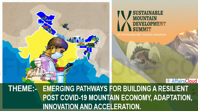 9th edition of Sustainable Mountain Development