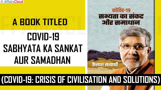 A book titled 'Covid-19 Sabhyata ka Sankat aur Samadhan'