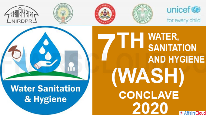A three day 7th Water, Sanitation and Hygiene(WASH) conclave 2020 held