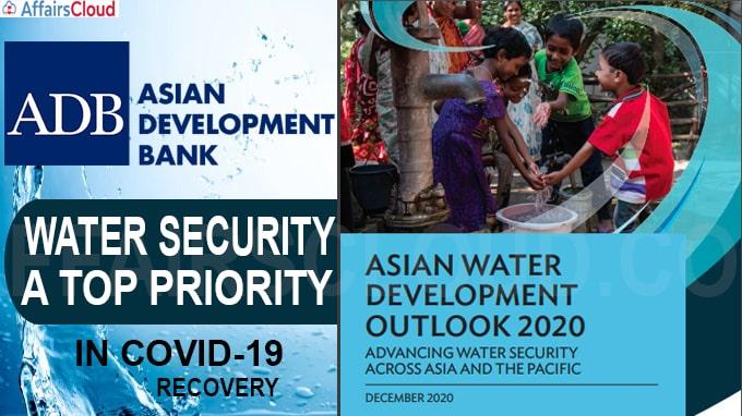 ADB's Asian Water Development Outlook 2020
