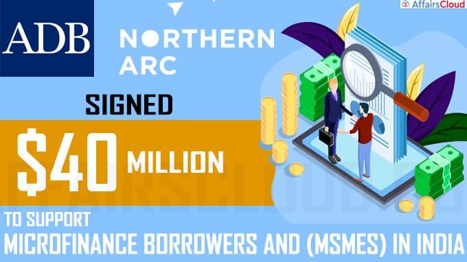 ADB, Northern Arc sign $40-million loan pact