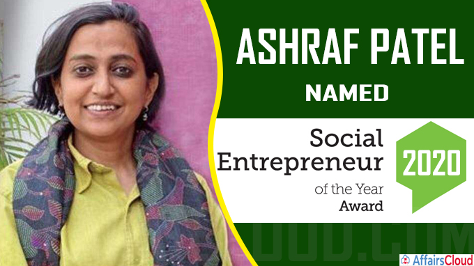 Ashraf Patel named Social Entrepreneur of the year