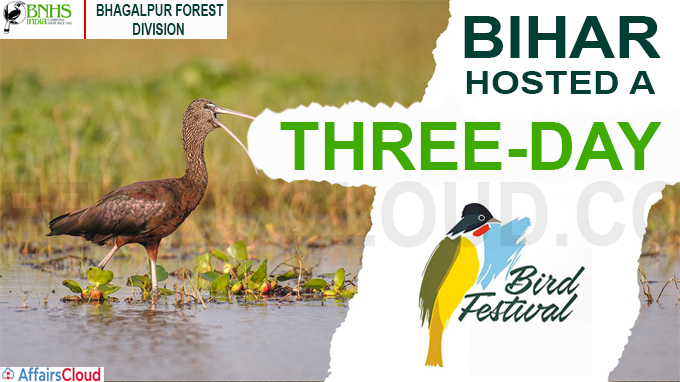 Bihar hosted a three-day 'Bird Festival'