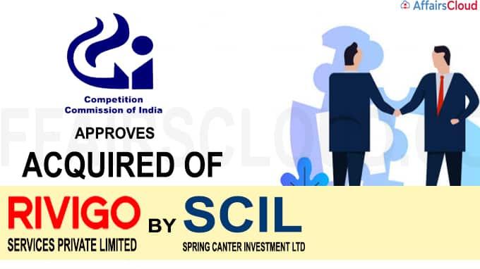CCI approves acquisition of Rivigo by SCIL