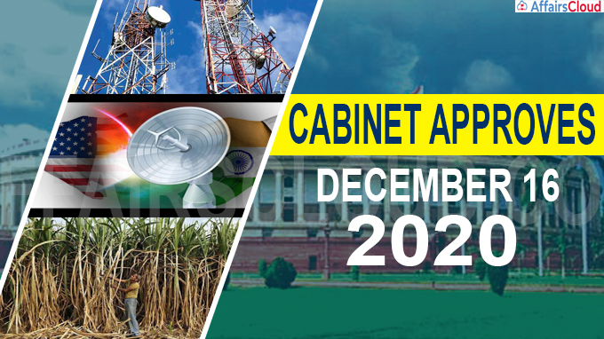 Cabinet approval on December 16