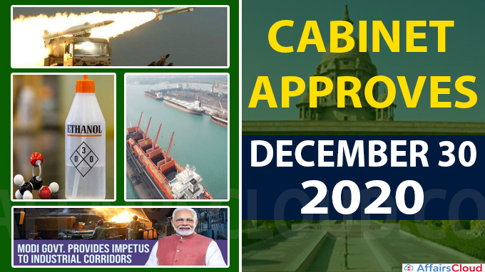 Cabinet approval on december 30 new