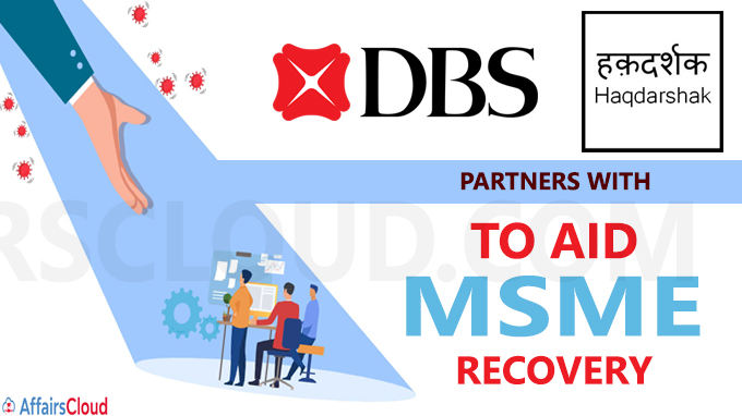 DBS Bank India partners with Haqdarshak to aid MSME recovery