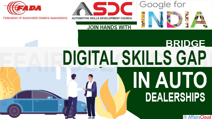 FADA, ASDC join hands with Google India to bridge digital skills gap
