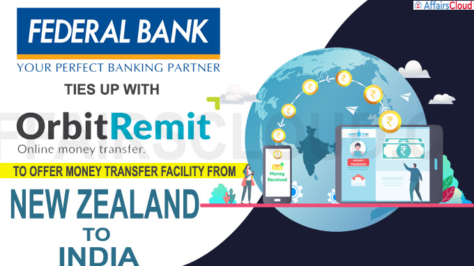 Federal Bank ties up with OrbitRemit Limited