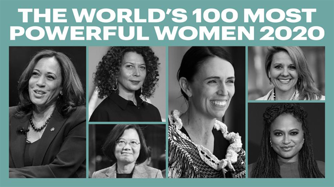 Forbes 2020 list of 100 most powerful women