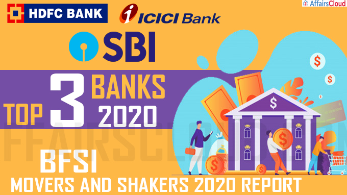 HDFC, ICICI, and SBI top three banks of 2020