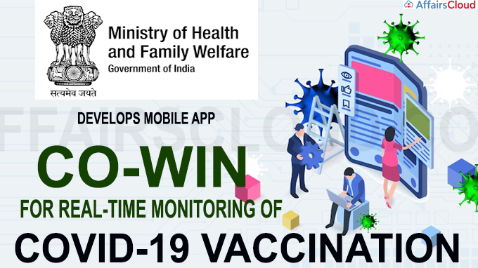 Health Ministry develops mobile app Co-WIN