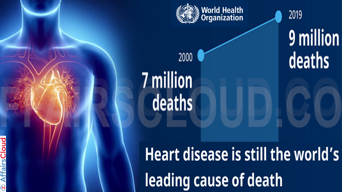 Heart disease killing more people than ever before WHO