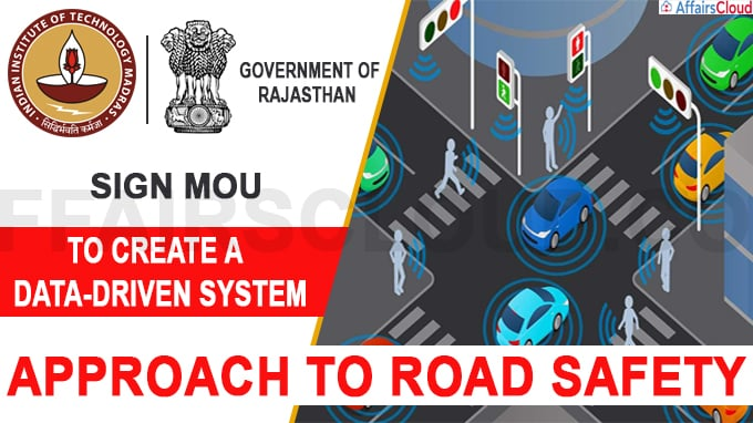 IIT Madras Rajasthan Government Signs MoU to Create Tech Solutions for Road Safety