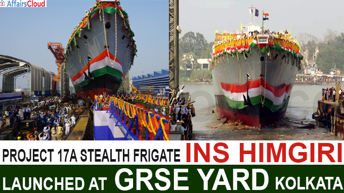 INS Himgiri, Project 17A Stealth Frigate, Launched