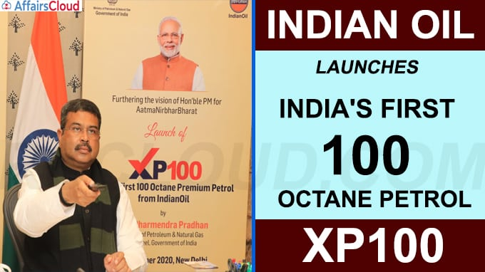 IOC launches India's first 100 Octane petrol