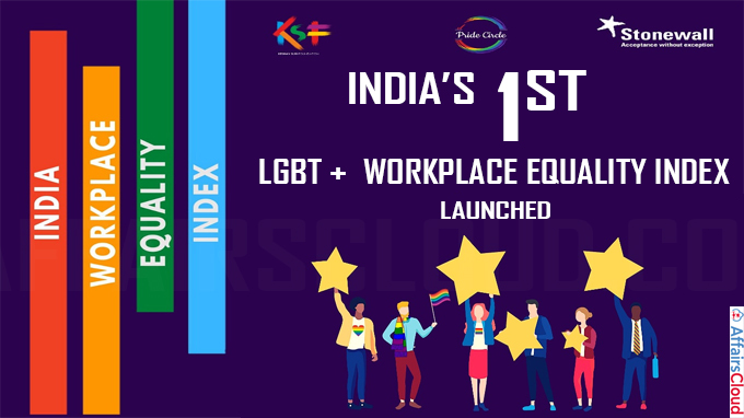 India's 1st LGBT+ workplace equality index