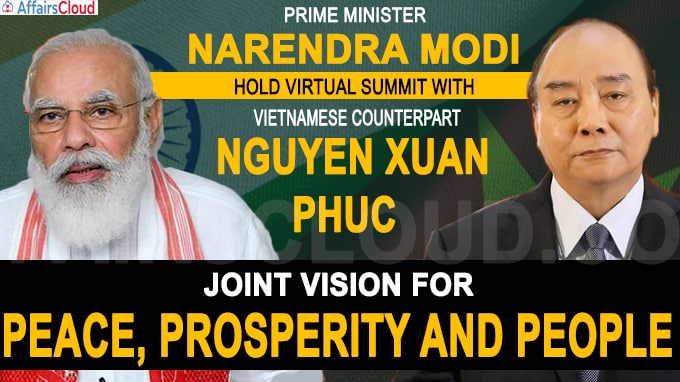 India - Vietnam Joint Vision for Peace, Prosperity and People
