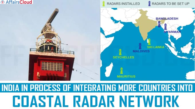 India in process of integrating more countries into coastal radar network