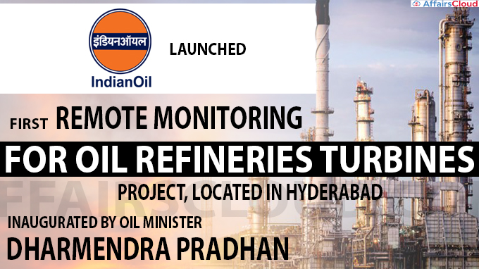 India launches first remote monitoring system for oil refineries
